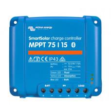 Smart Solar MPPT 15A Charge Controller 75V input 12/24V Output