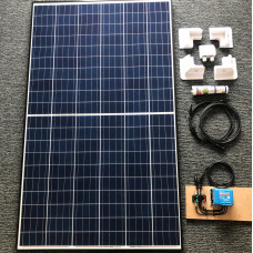 Complete Solar Kit 265 watt solar panel with Blue 20A MPPT charger