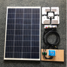 Complete Solar Kit 115W Solar Panel with SmartSolar 10A MPPT charger