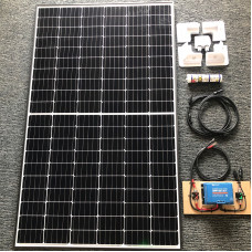 Complete Solar Kit 300 watt solar panel with Blue 30A MPPT charger