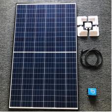 DIY Solar Kit 265 watt solar panel with Blue 20A MPPT charger