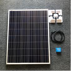 DIY Solar Kit 175 watt solar panel with Smart 15A MPPT charger